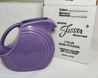 Fiesta Lilac Juice Pitcher