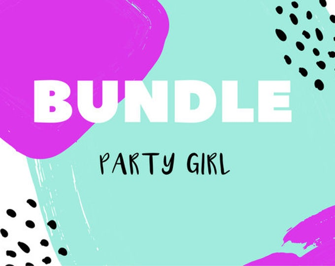 The 'Party Girl' Earring Studs Gift Bundle