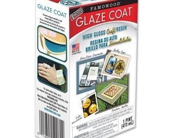 Famowood Glaze Coat Craft Kit Clear - Quart or Pint size