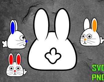 BUNNIES SVG for cutting machines SVG digital files Instant download cutting machine Laser engraving files Silhouette files Cameo files