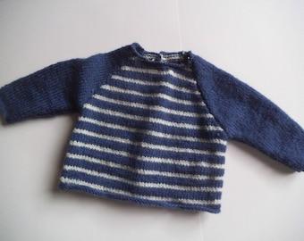Striped Navy blue jacket