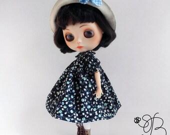 Blythe clothes, Blythe dress, Blythe hat