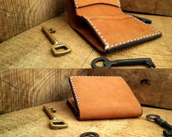 No. 1 / Leather Bi-Fold Wallet