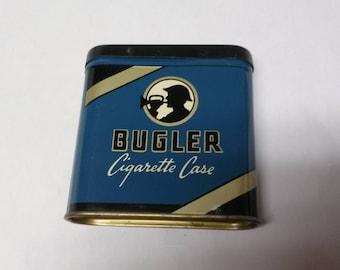 Vintage Bugler Cigarette Tin