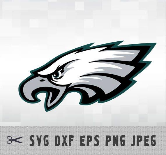 Philadelphia Eagles Svg Dxf Logo Vector Cut File Silhouette