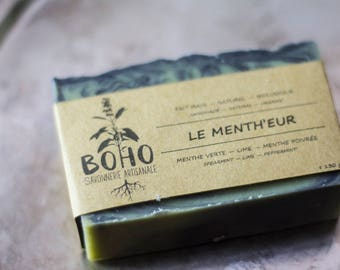 LIMITED edition contest wave / the favorite ' eur / natural, organic, artisan SOAP, vegan, human, mint, biodegradable, eco-friendly