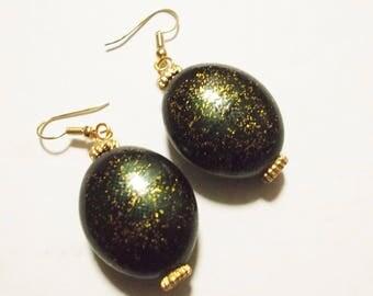 Glitter Handmade Earrings