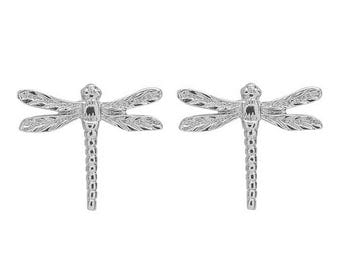 Dragonfly Stud Earring