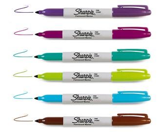 Sharpie Fine Permanent Marker | Berrylicious Set | Arts Craft