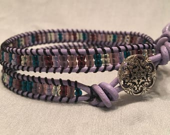 Mountains Meet Meadows Wrap Bracelet