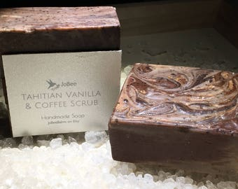 Tahitia Vanilla Coffee Soap Scrub