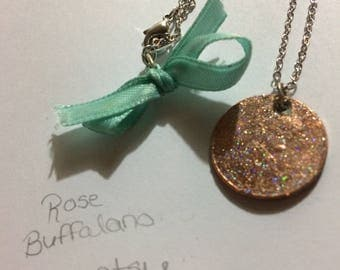 Holographic Lucky Penny Necklace | .925 sterling silver 18in. chain