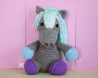 George the Horse - Crochet toy