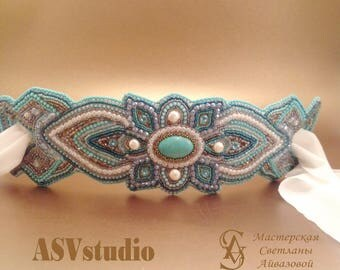 "Belt buckle ""Oriental beauty"" / пряжка-пояс Восточная красавица"