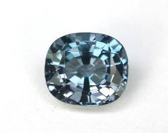 2.3 ctw. alexandrite color change loose gemstone.
