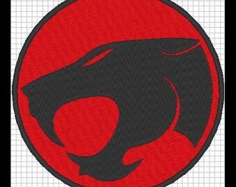 THUNDERCATS (Thundercats) embroidery design