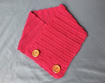 Lovely Pink Cowl