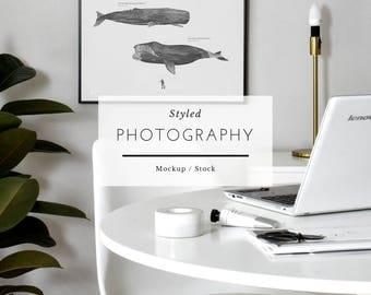 Styled Mockup Frame - Scandinavian Frame, Mockup Frame, Stock Image, Stock Art