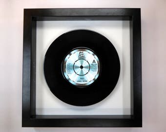 """Lionel Richie """"Truly"""" Framed 7"""" Vinyl Record"""