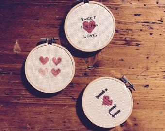 Custom Cross Stitch - Small Stitch