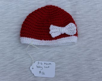 Baby Santa Hat, Christmas Hat, Newborn Christmas, Christmas Baby Hat, Santa Hat, Newborn Santa Hat, Christmas Photo Prop, Newborn Photo Prop