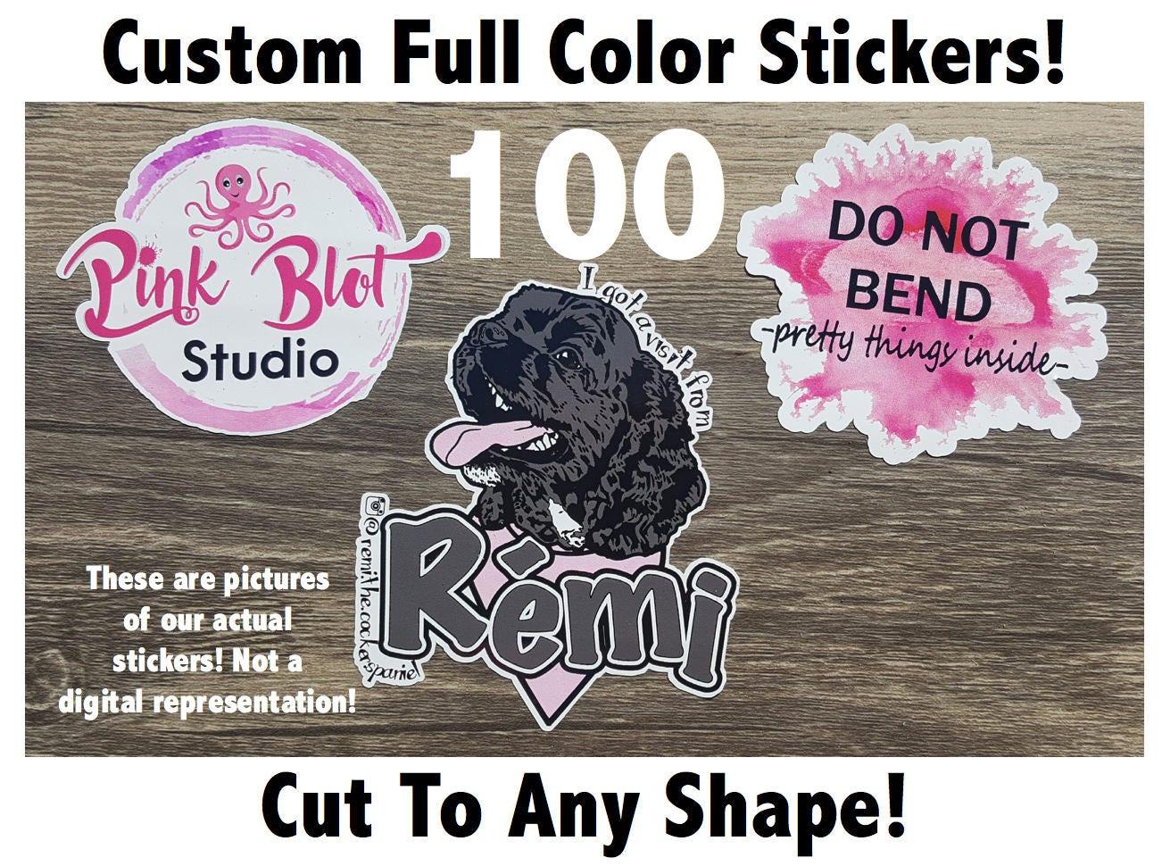 Custom Cut Vinyl Stickers Promotional Stickers Choose - Custom vinyl stickers for promotional purposes