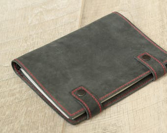 Refillable Leather Journal, Refillable Leather Notebook, Custom Leather Notebook, Custom Logo Journal