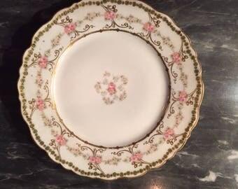 Elite Works Limoges Porcelain Collector Plate