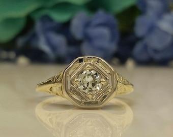 Old European Diamond Ring