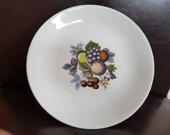 Lot of 6 X Vintage Swinnertons Harvest Fruit Dinner Plates