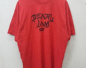 OFF Vintage Band Pearl Jam T-shirt XL Size