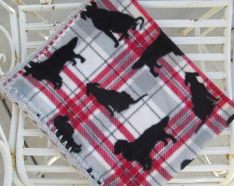 Dog Blanket - Fleece Dog Blanket - Crate Blanket - Pet Blanket - Small Dog Blanket - Dog Bed