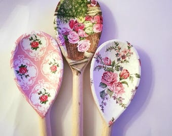Floral spoons