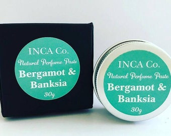 Bergamot & Banksia, Perfume Paste
