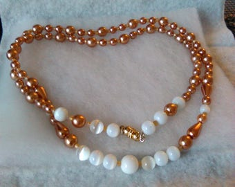 "New beaded neckwear 18 "" single strand"