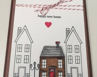 Moving Announcement/New Home Congratulations