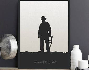 Indiana Jones Art Etsy