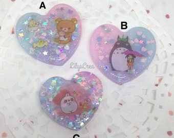 DISCOUNT - Kawaii resin heart