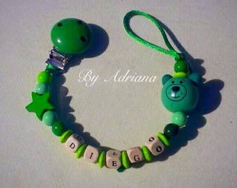 Pacifier - Pacifier name * OursonVert *.
