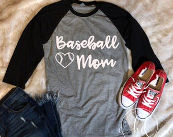 Baseball Mom • Baseball Tee • Baseball Raglan