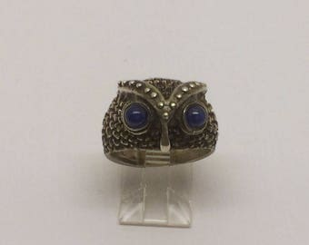 sterling silver owl  ring #28