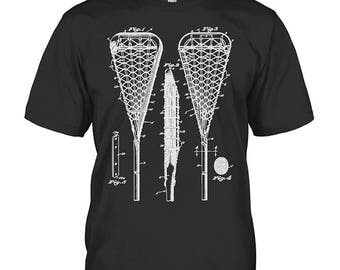 Lacrosse Shirt - Lacrosse Hoodie - Lacrosse Gift for fan - Funny Birthday Gift for fan - Sizes up to 5XL!