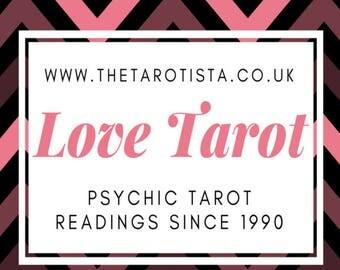 Mini Love Feelings Psychic Tarot Reading by Reader of 30 Years Experience
