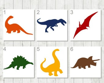 Dinosaur Decals - T Rex Decal - Custom Dinosaur Decal - Dino Laptop Decal - Dinosaur Kids Decal - Dino Boys Decal - Dinosaur Birthday Favor