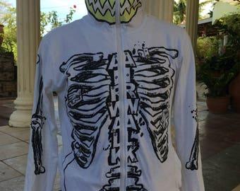 airwalk full zip hoodie mens