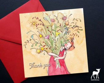 Thank You Card - Greeting Card - Thank You - Bible Card - Christian Card