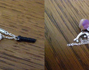to choose from, plug, dust, phone charms, religious jewelry cache