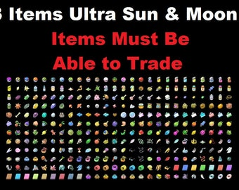 how to get battle items sun and moon