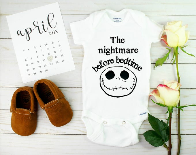 Nightmare Before Christmas Onesie