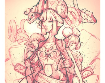 Velthaneus Pencil Print 014